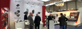 Successful exhibition at German tech events