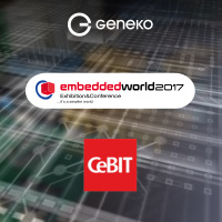 Geneko at Embedded World 2017 and CeBIT 2017
